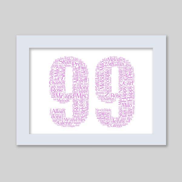 99 of Word Art Prints