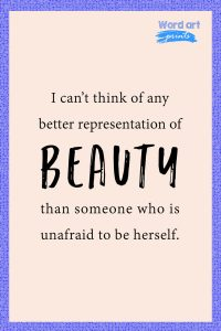 Quotes About Representation of Beauty