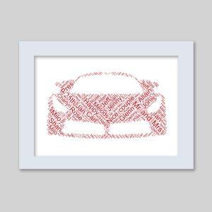 Ferrari Car of Word Art Prints