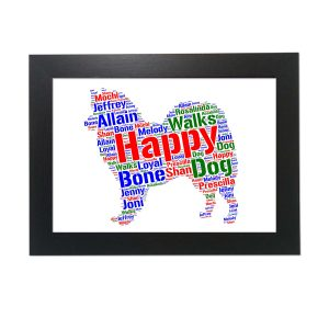 American Eskimo Dog of Word Art Prints
