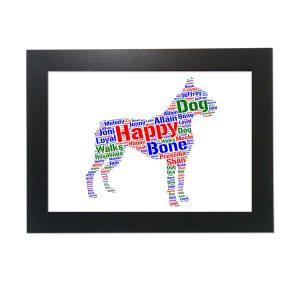 French Bulldog of Word Art Prints