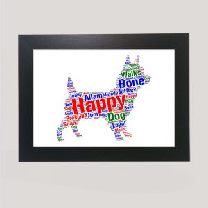 Australian Terrier of Word Art Prints