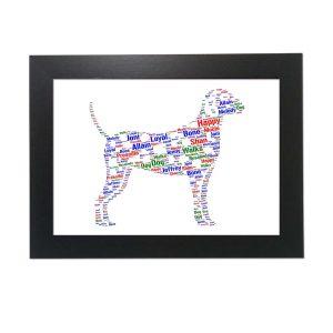 Dalmatian Dog of Word Art Prints