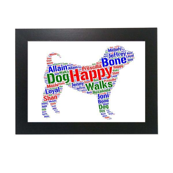 Shar Pei Dog of Word Art Prints