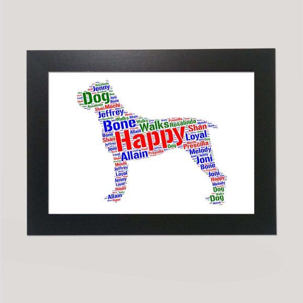 Cane Corso Dog of Word Art Prints