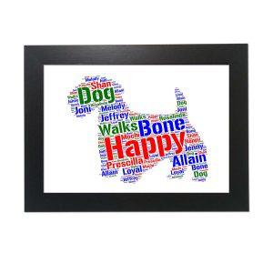 Sealyham Terrier Dog of Word Art Prints