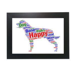 Hovawart Dog of Word Art Prints