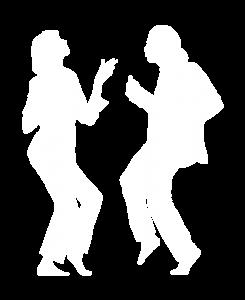 Dancing Partner White