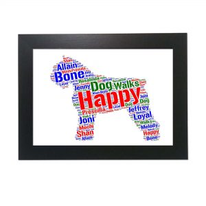 Bouvier Des Flandres Dog of Word Art Prints