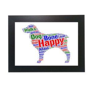 Boykin Spaniel Dog of Word Art Prints