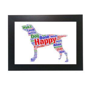 Bracco Italiano Dog of Word Art Prints