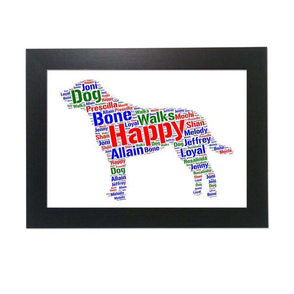 Chesapeake Bay Retriever Dog of Word Art Prints