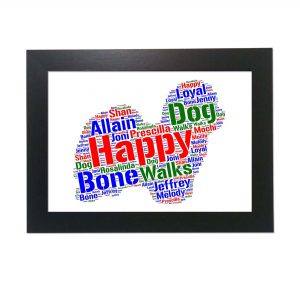 Coton De Tulear Dog of Word Art Prints