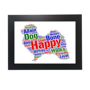 Havanese Dog of Word Art Prints
