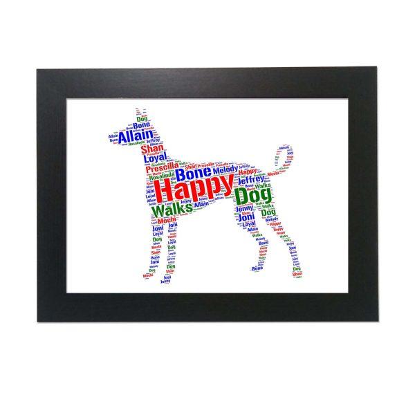 Ibizan Hound Dog of Word Art Prints