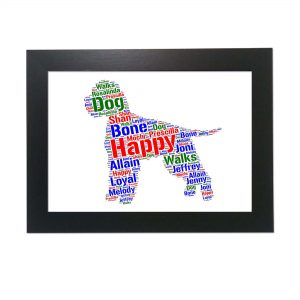 Lagotto Romagnolo Dog of Word Art Prints