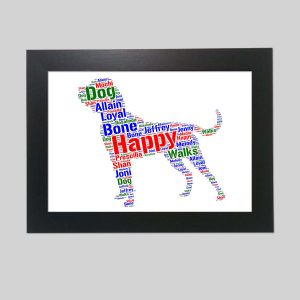 Tosa Inu Dog of Word Art Prints