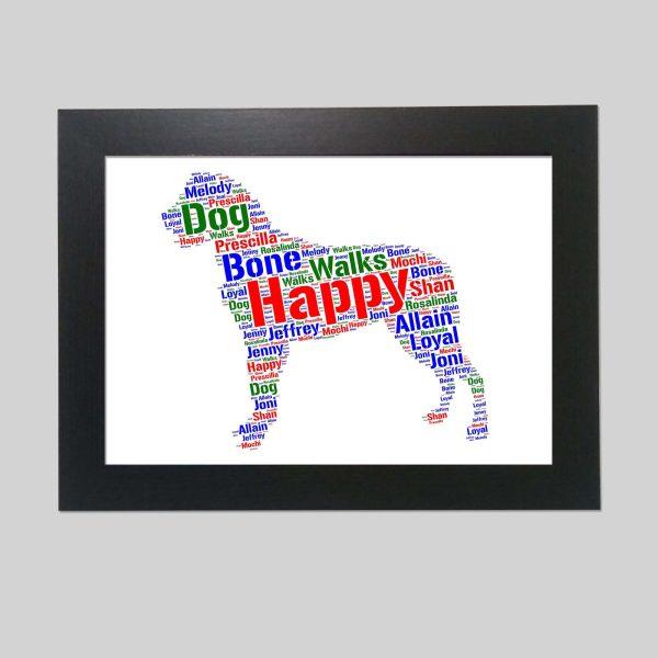 Entlebucher Mountain Dog of Word Art Prints