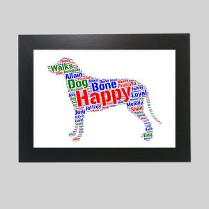 Greater Swiss Mountain Dog of Word Art Prints