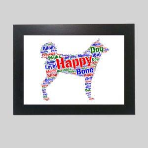 Karelian Bear Dog of Word Art Prints