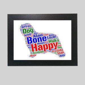 Komondor Dog of Word Art Prints