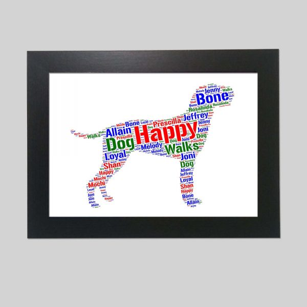 Hungarian Wirehaired Vizsla of Word Art Prints