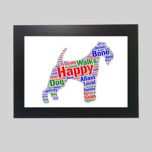 Lakeland Terrier Of Word Art Prints