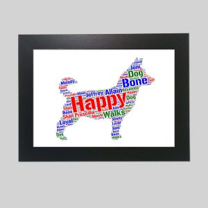 Lancashire Heeler Of Word Art Prints