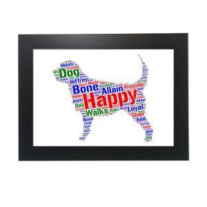 Otterhound Dog of Word Art Prints