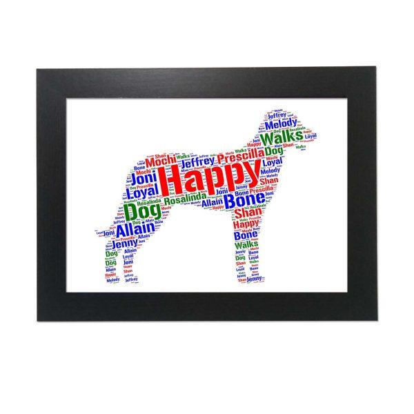Beauceron Dog of Word Art Prints