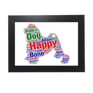 Lowchen Dog of Word Art Prints