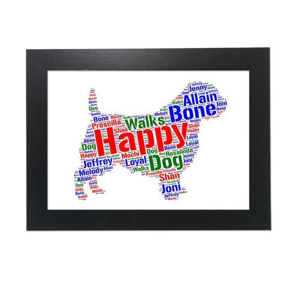 Norfolk Terrier of Word Art Prints