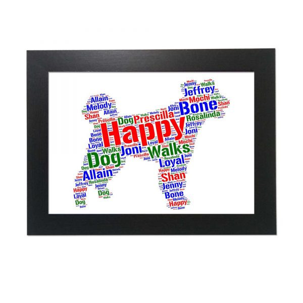 Pumi Dog of Word Art Prints