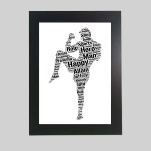 muay thai of word art prints