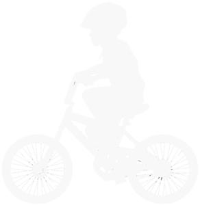 kid in a bicycle